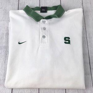 Vintage NIKE Men's Team Spartan Golf Polo Shirt